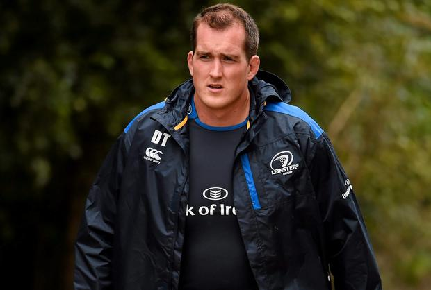 With Leo Cullen now in a coaching role, Devin Toner accepts he will shoulder even more responsibility for Leinster this season. Photo: Stephen McCarthy / SPORTSFILE