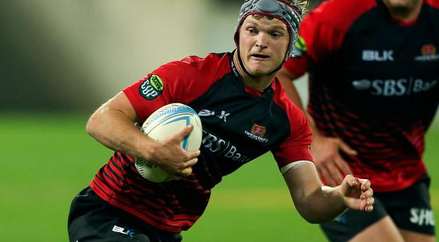 Tyler Bleyendaal in action for Canterbury