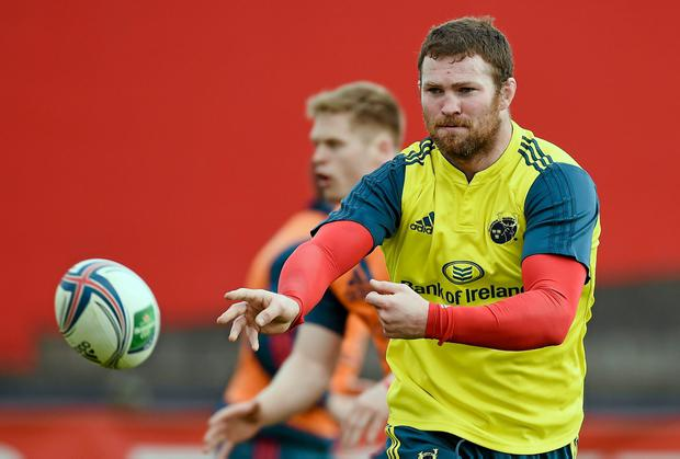 Munster's Donnacha Ryan