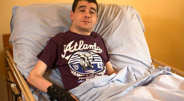 Derek Nolan is demanding more help from the HSE with his care