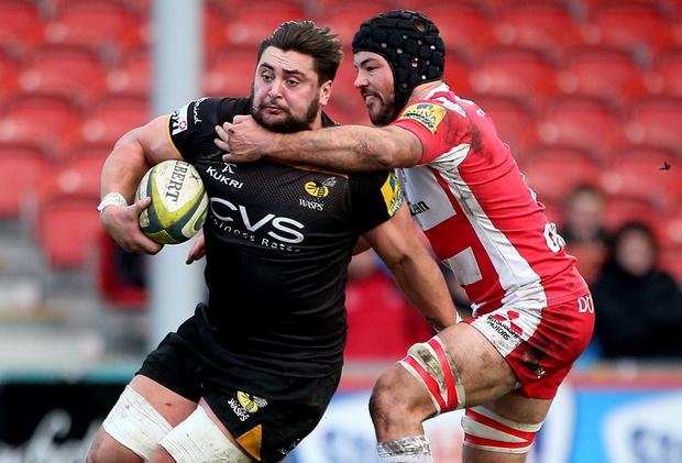 Rory Pitman - seen here in action for Wasps - is likely to be the biggest threat to Leinster when they face Llanelli. Photo credit: Charlie Crowhurst/Getty Images