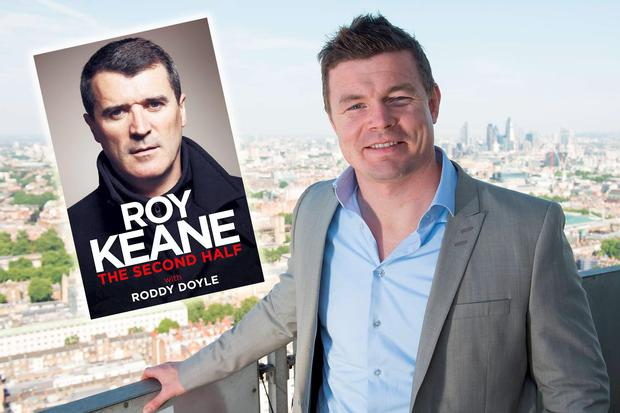 Brian O'Driscoll and Roy Keane are both set to release books in the coming months