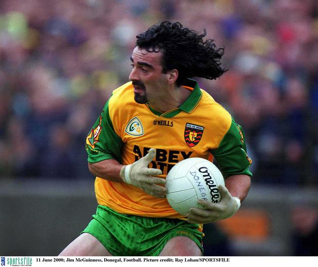Jim McGuinness during his playing days