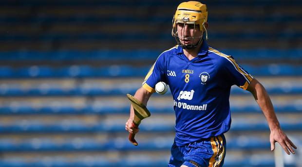 Colm Galvin has become a landmark figure among the most talented young generation of players Clare have ever produced. Photo: Stephen McCarthy / SPORTSFILE