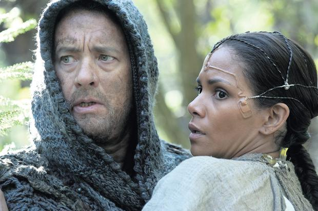 PAST, PRESENT AND FUTURE: Tom Hanks and Halle Berry in the 2012 film of David Mitchell's 'Cloud Atlas'