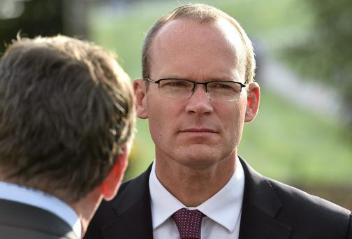 Minister Simon Coveney - in need of some PR.