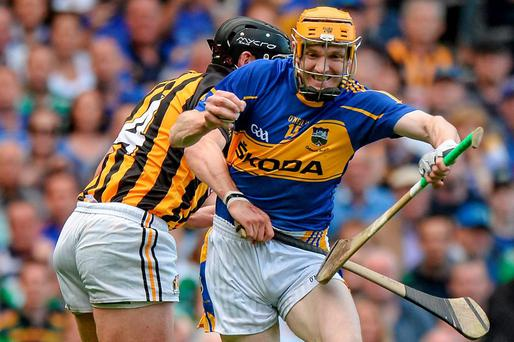 Lar Corbett in action during the drawn All-Ireland final in 2014