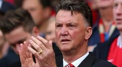 Louis van Gaal said to his players before yesterday's match against QPR that this was a new beginning. Alex Livesey/Getty Images