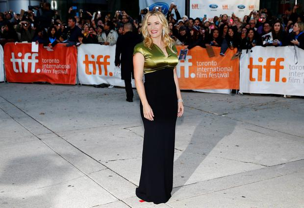 Actress Kate Winslet arrives for the