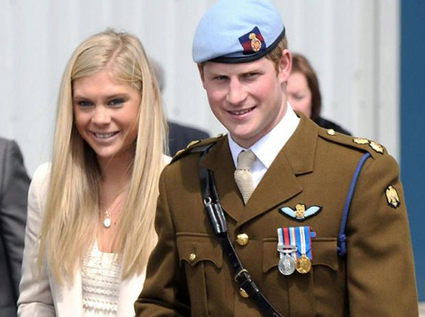 He dated British socialite Chelsy Davy for six years