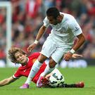 Debutant Daley Blind played a key role in Manchester United's 4-0 hammering of Queen's Park Rangers. Alex Livesey/Getty Images