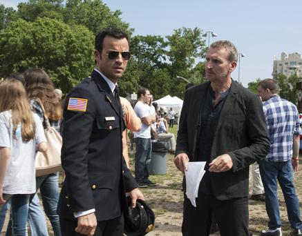 HBO Warner Brothers The Leftovers- Pilot 2013 Cast: Justin Theroux- Kevin Christopher Eccleston- Reverend Matt Jamison