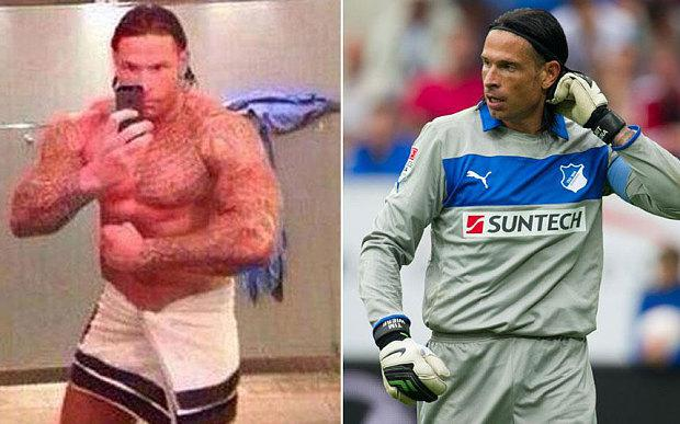 Wiese has been without a club since January and started bodybuilding