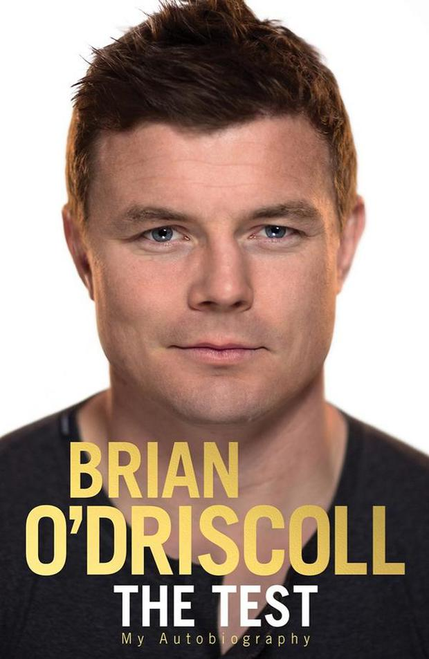 The cover of Brian O'Driscoll's autobiography