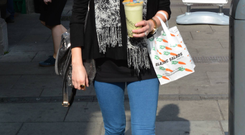 Expectant mother Amy Huberman.