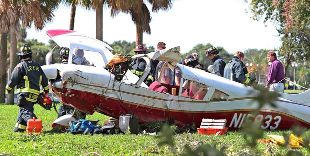 Plane crash survived by four Irish people in Florida