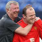 Wayne Rooney says Alex Ferguson was vitally important in his career progression