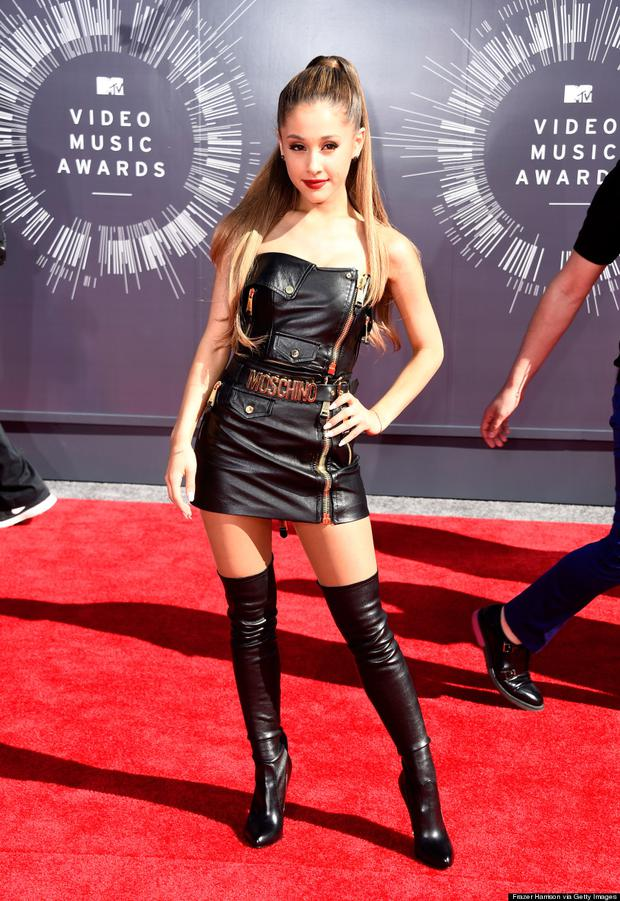 Ariana Grande attends the 2014 MTV Video Music Awards
