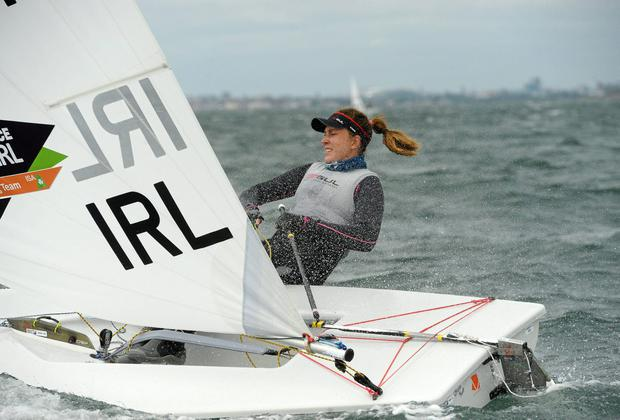 Annalise Murphy clinched Ireland's qualification for Rio 2016 with her 13th placed finish at the ISAF World Championships in Santander. Photo: David Maher / SPORTSFILE