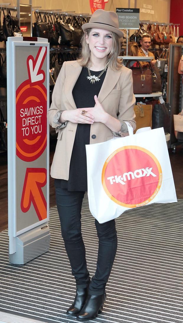 Award-winning Irish actress and author Amy Huberman officially opened the new TK Maxx store at Dundrum Town Centre