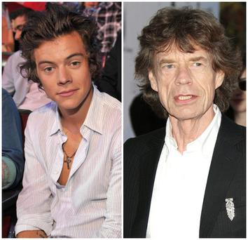 Harry Styles and Mick Jagger have become firm friends after meeting at an exclusive industry party