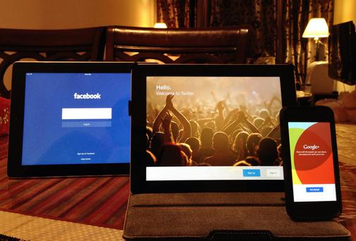 The Three Giants of Social Media - Facebook, Twitter and Google