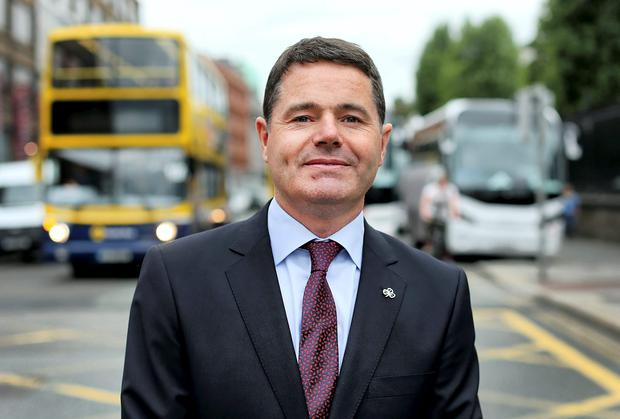 Minister for Transport Pascal Donohoe