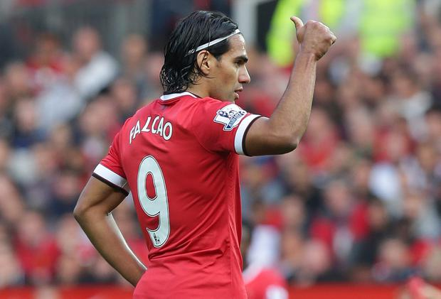 Radamel Falcao is among those who are earning huge money on the back of Manchester United's global appeal. Photo credit: Tom Purslow/Man Utd via Getty Images