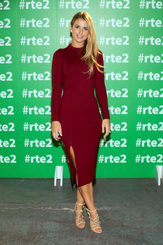 Vogue Williams at the RTÉ 2 New Season Launch party