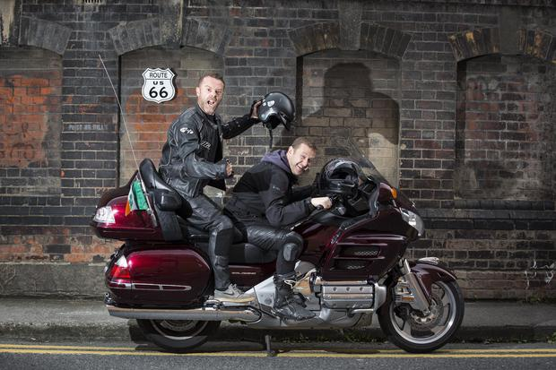 Now, in its 7th year, Irish comedians PJ Gallagher and Joe.ie writer Eric Lalor will leather up and take on the mother of all mother roads to help this group raise over €250,000 for sick kids in Ireland. Picture Andres Poveda
