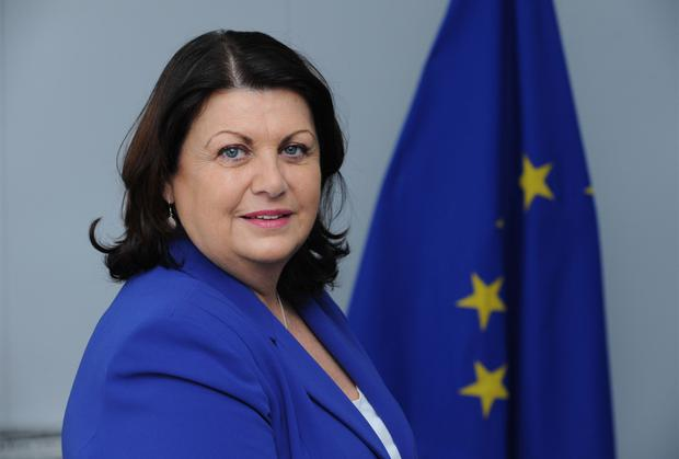 VITAL: Maire Geoghegan- Quinn emphasised the importance of SMEs in getting the Euro economy back on track