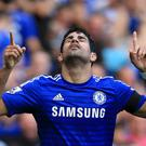 Diego Costa has fought his way from the back streets of Brazil to the very top of the European game, and is lighting up Chelsea's bid for the title. Photo credit: Stephen Pond/PA Wire