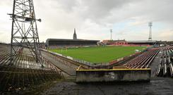 There are plans to re-develop Dalymount Park as a legacy of Ireland winning the rights to play four games of the Euro 2020 Championships. Photo: David Maher / SPORTSFILE