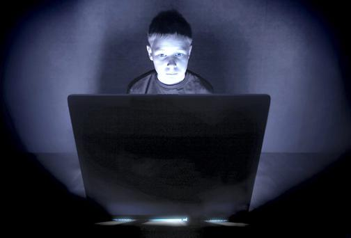 When children go into cyberspace it is 'like letting your kids free in the middle of New York City on their own'.