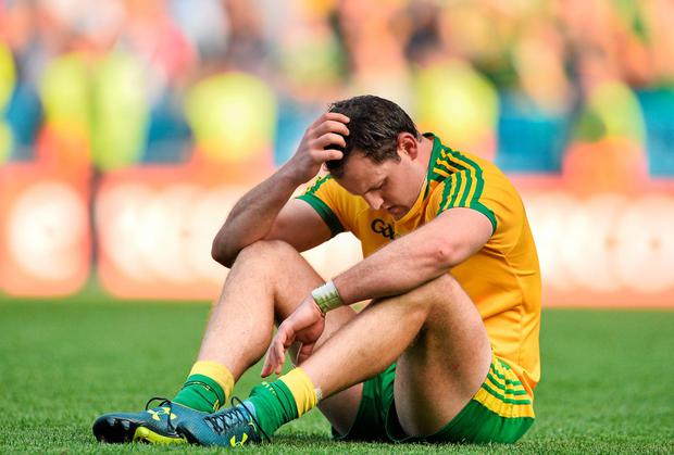 Donegal captain Michael Murphy wasn't the only one with reason to feel disappointed after Sunday's All-Ireland Football final. Photo: Ramsey Cardy / SPORTSFILE