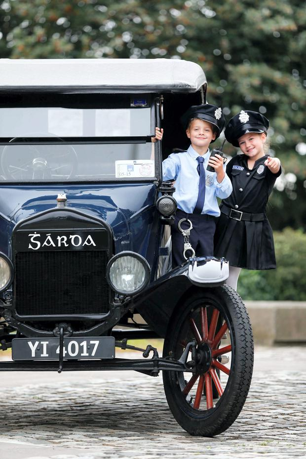 1923 Dublin garda car reports for duty - Herald.ie
