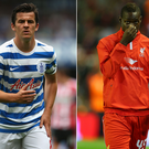 Joey Barton (left) and Mario Balotelli