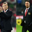 David Moyes was replaced by Louis van Gaal as Manchester United manager