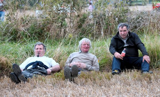 General view of spectators of the ploughing competition. National Ploughing Championships 2014. Ratheniska, Stradbally, Co. Laois. Picture: Caroline Quinn