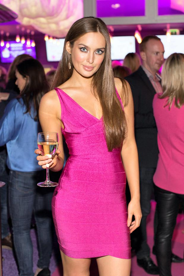 Roz Purcell pictured at the MOOCH FRO YO Dawson Street Store Launch Party. Photo: Anthony Woods.