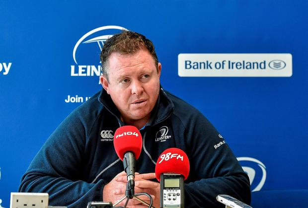 Leinster head coach Matt O'Connor believes his team need to be more clinical this week