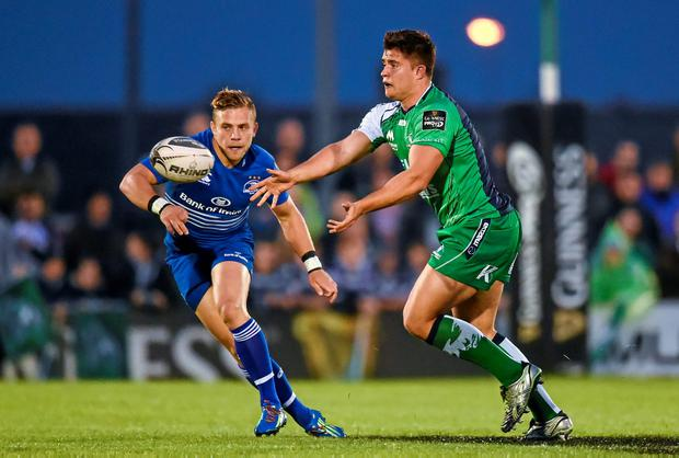 Ian Madigan has been able to produce some of Leinster's few breakaways