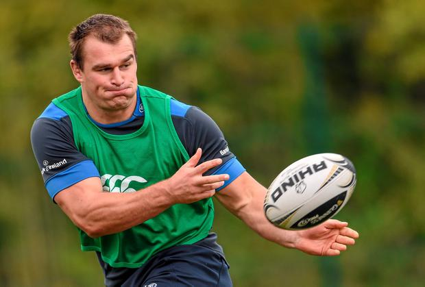 'The sky is the limit' for Rhys Ruddock, according to Leinster coach Matt O'Connor