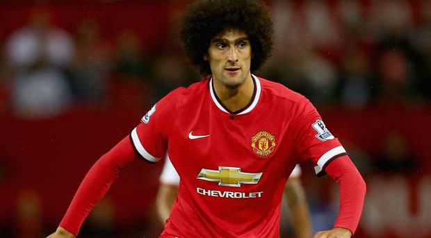 Marouane Fellaini was expected to leave the club in the summer, a year since joining, but insists he is still determined to force his way into the side.