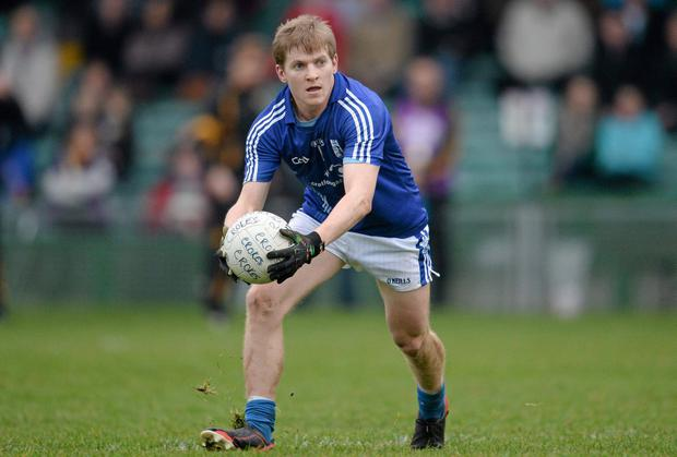 Podge Collins in action for the Cratloe footballers