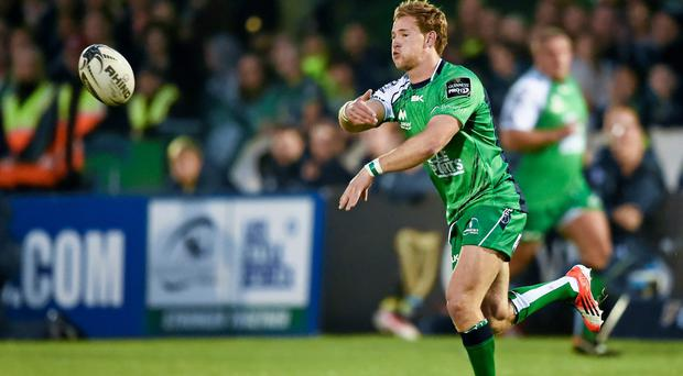 Connacht's Kieran Marmion is ready to do battle with Conor Murray for Ireland honours. Stephen McCarthy / SPORTSFILE