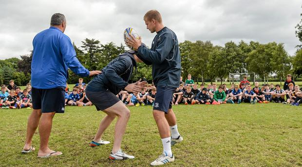 The training camps aim to bring emerging rugby players to the next level. Barry Cregg / SPORTSFILE