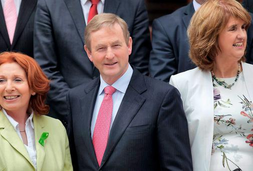 Enda Kenny has been left looking incompetent. Stephen Collins/Collins Photos