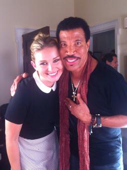 Ireland AM on TV3 Anna Daly and Lionel Richie