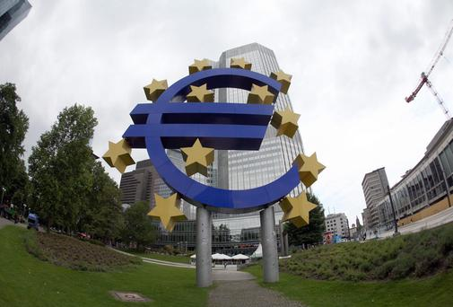 Investors have been loading up on Eurozone government debt this year, anticipating te ECB will buy the bonds to pump money into the stagnating economy, the process called quantitative easing